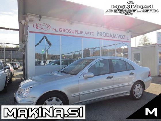 Mercedes-Benz C-Razred 200 CDI 2XKLIMA+LE 66.000KM+SLOVENSKI+KOT NOV