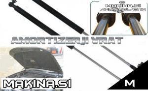 Amortizerji avtomobilskih zadnjih vrat in pokrovov motorja - plinske vzmeti