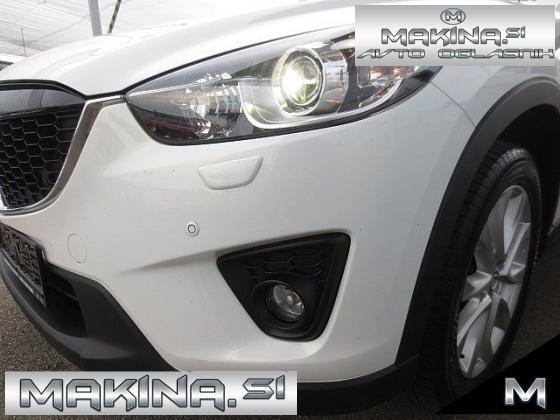 Mazda CX-5 2.2EXCEED 4WD 175 AUTOMATIC + NAVIGACIJA + XENON + 2 X PDC + USNJE + ALU PLATIŠČA.
