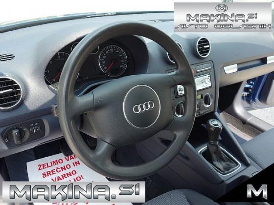 Audi A3 1.9 TDI-SLOVENSKI- 1LASTNICA- ODLIČEN-