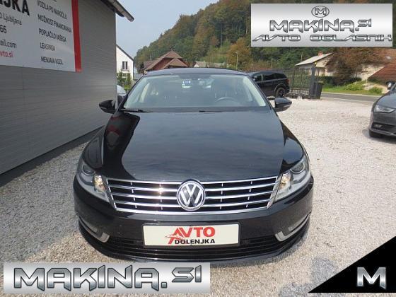 Volkswagen CC 2.0TDI BIXENON + 2 X PDC + 2 X AVTOMATSKA KLIMA + TEMPOMAT + POTOVALNI RAČUNALNIK + ALU