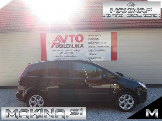 Ford C-Max 2.0B AUTOMATIC SLOVENSKO VOZILO + 2 X AVTOMATSKA KLIMA + PDC + PLINEKS + ALU PLATIŠČA