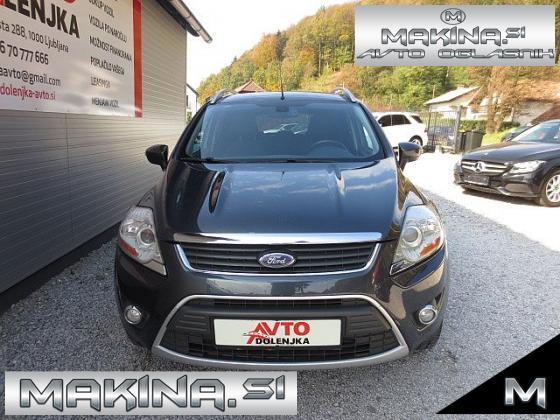 Ford Kuga 2.0TDCI 4X4 TITANIUM + SLOVENSKO VOZILO + DELNO USNJE + AVTOMATSKA KLIMA + TEMPOMAT