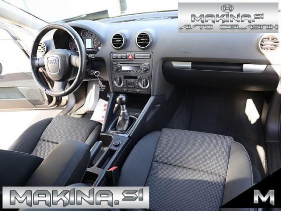 Audi A3 Sportback 1.9 TDI- XENON- SPORT PAKET- 17 COL-