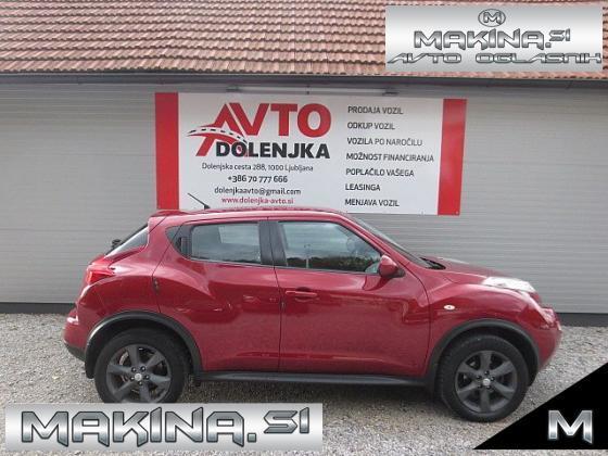 Nissan Juke 1.5DCI VISIA SLOVENSKO VOZILO + AVTOMATSKA KLIMA + TEMPOMAT + POTOVALNI RAČUNALNIK