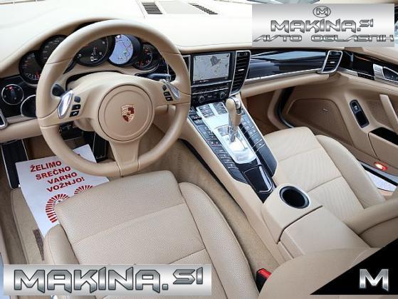 Porsche Panamera 3.0-V6-FACELIFT- ZRAČNO VZMETENJE- STREŠNO OKNO- HLAJENJE SEDEŽEV- ACC- 20COL