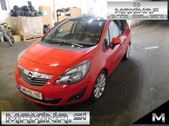 Opel Meriva 1.4 Turbo Active. 1. LASTNIK. SAMO 66.260KM