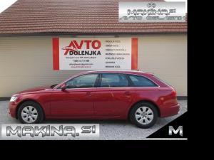 Audi A6 2.0TDI BIXENON + NAVIGACIJA + 2 X PDC + AVTOMATSKA KLIMA + TEMPOMAT + POTOVALNI RAČUNALNIK