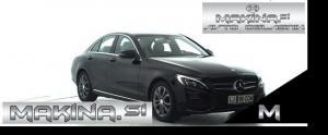 Mercedes-Benz C-Razred 220CDI SPORT AUTOMATIC + NAVIGACIJA + 2 X AVTOMATSKA KLIMA + TEMPOMAT + LE 16