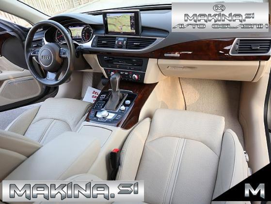 Audi A7 Sportback 3.0 TDI- Q-MATRIX- VELIKA NAVIGACIJA- PDC- HLAJENJE SEDEŽEV-