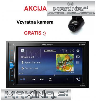 MULTIMEDIJSKI AVTORADIO PIONEER MVH-A200VBT + KAMERA