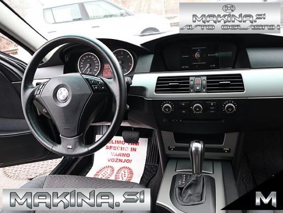 BMW serija 5- 525d touring- BIXENON- NAVIGACIJA- PDC- ODLIČEN- ATRAKTIVEN-