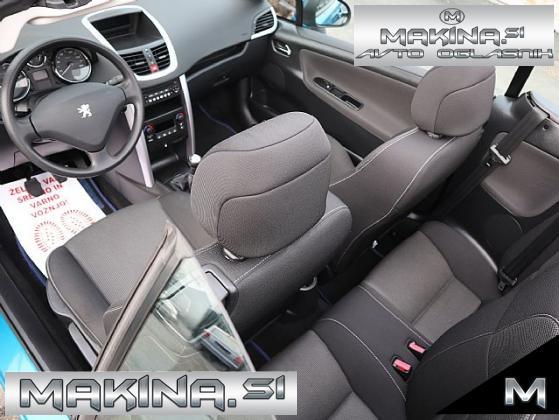 Peugeot 207 CC Sport 1.6 16V- SLOVENSKO VOZILO- SAMO 99.000KM- 17 COL-