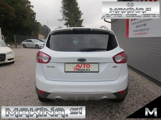 Ford Kuga 2.0TDCI 4X4 TITANIUM + USNJE + SLOVENSKO VOZILO + BREZ POLOGA