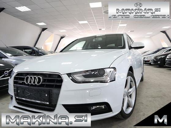 Audi A4 Avant quattro 2.0 TDI S-LINE- PERLA- LED- 177PS-1 8COL