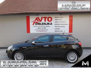 Alfa Romeo Giulietta 2.0JTDm EXCLUSIVE AUTOMATIC + NAVIGACIJA + 2 X PDC + USNJE + ALU 17