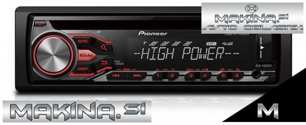 AVTORADIO PIONEER DEH-4800FD - 4 x 100W