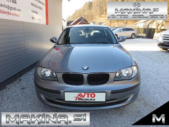 BMW serija 1- 116d + 2 X AVTOMATSKA KLIMA + TEMPOMAT + POTOVALNI RAČUNALNIK + ELEKTRIČNA STEKLA + ALU
