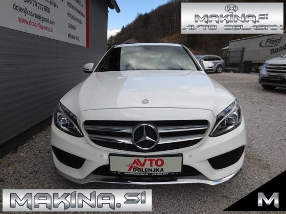 Mercedes-Benz C-Razred C200CDI AUTOMATIC  AMG LOOK + NAVIGACIJA + USNJE + F1 + LE 31 TKM