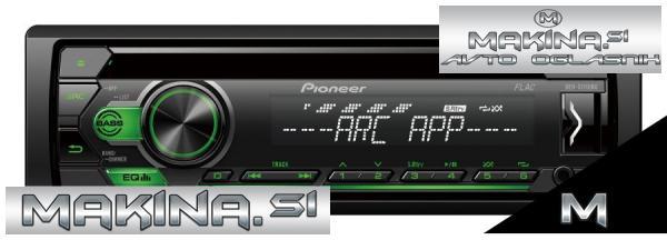 AVTORADIO PIONEER DEH-S111UBG + DALJINEC