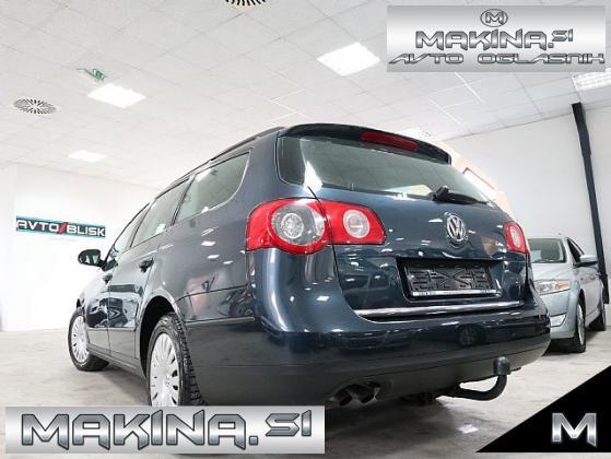 Volkswagen Passat Variant 1.9 TDI- NAVIGACIJA- VLEČNA KLJUKA- DIGITALNA KLIMA-