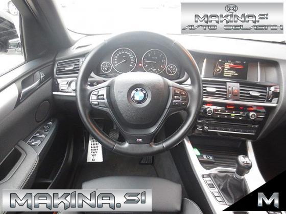 BMW serija X4- xDrive 20d BIXENON + 2 X PDC + NAVIGACIJA + USNJE + TEMPOMAT + LE 121000