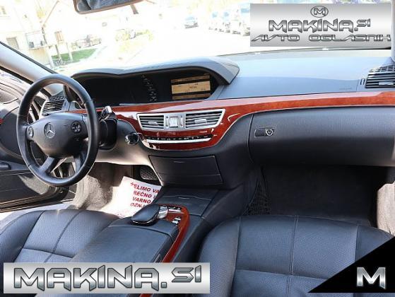 Mercedes-Benz S-Razred S 320 CDI- NAVIGACIJA- USNJE- 19 COL- HLAJENJE SEDEŽEV- ZRAČNO VZMETENJE- LED-