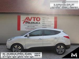 Hyundai ix35 4WD 2.0CRDi AUTOMATIC + USNJE + GRETJE + NAVIGACIJA + 2 X LED + LE 105 TKM..