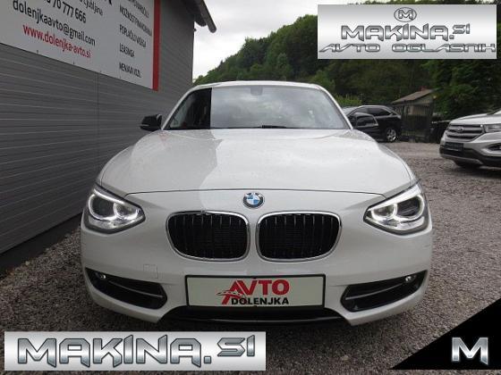 BMW serija 1- 20D SPORT AUTOMATIC + BIXENON + PDC + USNJE + NAVIGACIJA + ŠPORTNI SEDEŽI.