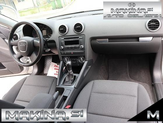 Audi A3 Sportback 1.6 TDI- SLOVENSKO VOZILO- 1LASTNIK- SAMO 120.000