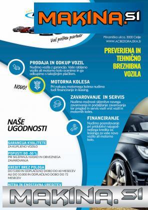 DS Automobiles DS5 2.0HDi So Chic Avtomatic- PDC- ALU- JAMSTVO 12.mesecev