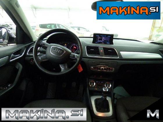 Audi Q3 2.0 TDI + BARVNA NAVIGACIJA + ALU + PDC + UGODNO