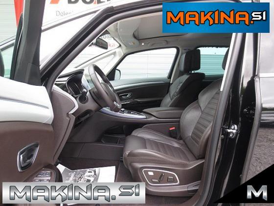 Renault Espace 1.6DCI AUTOMATIC INITIALE 7 SEDEŽEV + NAVIGACIJA + XENON + USNJE + DVD...