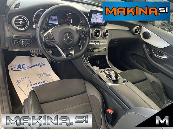 Mercedes-Benz C-Razred C Coupé 250 d 4MATIC Avtomatic- AMG