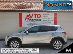 Mazda CX-5 2.2d 4WD AUTOMATIC + NAVIGACIJA + 2 X AVTOMATSKA KLIMA + 2 X PDC + TEMPOMAT + ALU19...