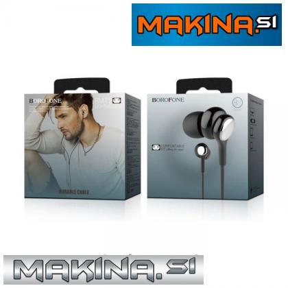 BOROFONE Slušalke Lightmelody BM12 črne
