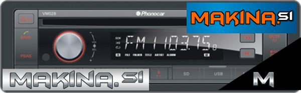 VM028 - Phonocar avtoradio