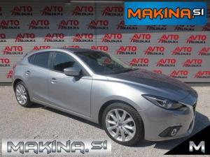 Mazda 3 1.5D EXCEED + BARVNA NAVIGACIJA + XENON + PDC + SAMO 33950 KM...