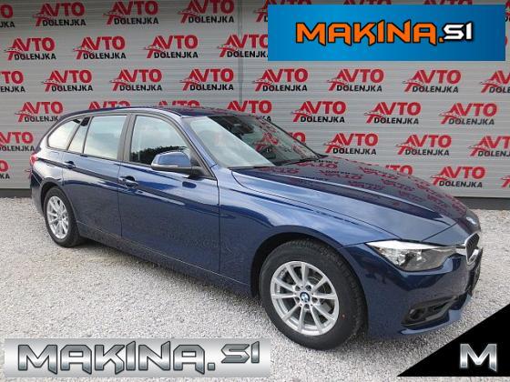 BMW serija 3- 316d Touring AUTOMATIC + NAVIGACIJA + PDC + 2 X LED + AVTOMATSKA KLIMA + TEMPOMAT...