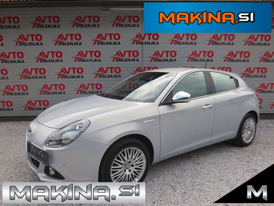 Alfa Romeo Giulietta 2.0 JTDm AUTOMATIC EXCLUSIVE + 2 X PDC + STARTSTOP + USNJE + F1 + ALU