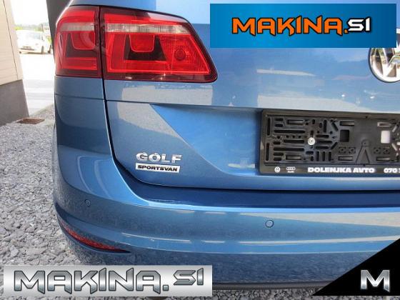 Volkswagen Golf Sportsvan 1.6 TDI BMT Highline DSG + NAVIGACIJA + 2 X PDC + TEMPOMAT + ALU17...