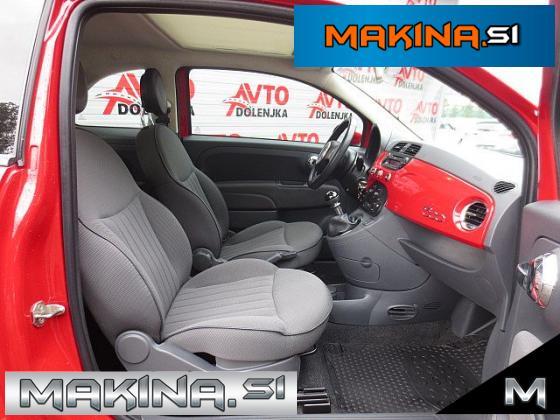 Fiat 500 1.2 SLOVENSKO VOZILO + AVTOMATSKA KLIMA + PANORAMA + POLOG LE 699€