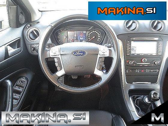 Ford Mondeo 2.0TDCi NAVIGACIJA + USNJE + 2 X PDC + TEMPOMAT + LED + BREZ POLOGA...