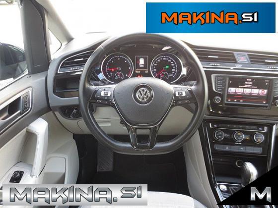 Volkswagen Touran 2.0TDI HIGHLINE DSG  +7.SEDEŽEV + PDC + TEMPOMAT + POTOVALNI RAČUNALNIK...