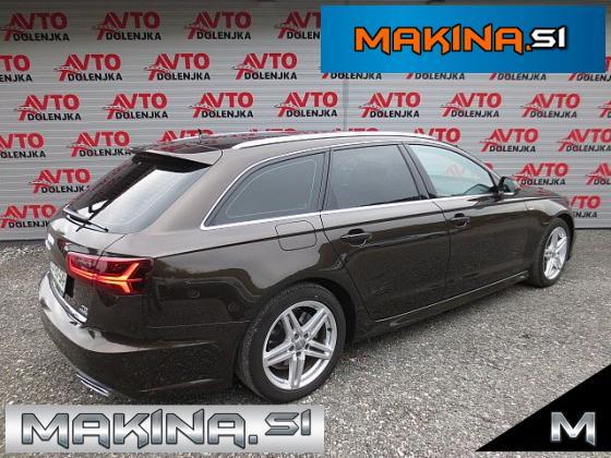 Audi A6 2.0TDI Q AUTOMATIC + NAVIGACIJA + BIXENON + TEL + LED + ZUN.S LINE...