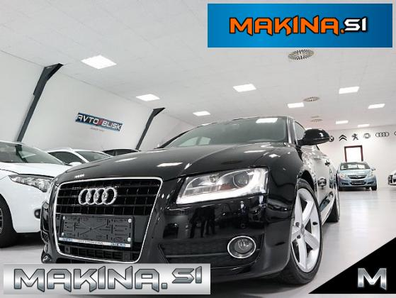 Audi A5 Coupe 2.7 TDI S-LINE- SLOVENSKO VOZILO- 1.LASTNICA- DIODE- F1 MENJALNIK