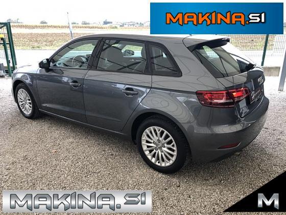 Audi A3 Sportback 1.6 TDI Design- xenon- navigacija- pdc- alu16