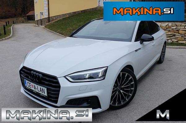 Audi A5 Sportback quattro 2.0TDI S tronic 3xS-line Maximalna oprema