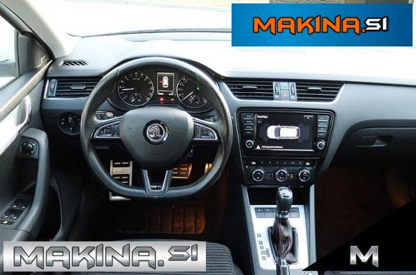 Škoda Octavia Combi 2.0 TDI DSG RS Xenon- led VELIKA NAVIGACIJA PRIKLOP
