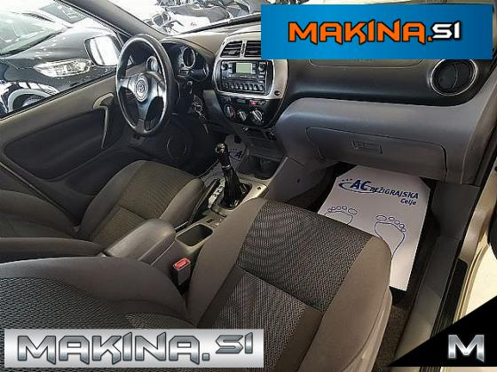 Toyota RAV4 2.0 D-4D 4WD- ODLIČEN- BREZ POLOGA